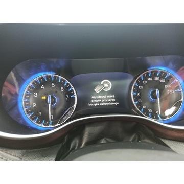 Chrysler Pacifica 2018+ Polskie Menu Radio Eu