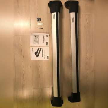 Bagażnik,Thule Wingbar Edge 9595, kit 3089 BMW F10