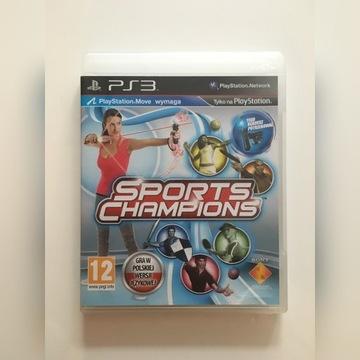 Sport Champions PS3 PL Po Polsku JAK NOWA ! OKAZJA