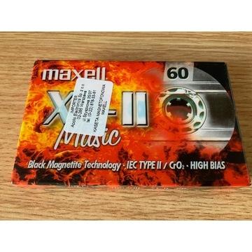 Kaseta Maxell XLII 60 - NOS, folia