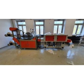 Maszyna do produkcji rekawiczek HDPE woreczków fol