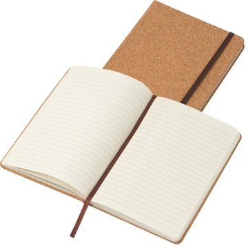 Notatnik korkowy format A5 160 stron w linie