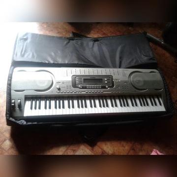 Keyboard CASIO WK-3700 + pokrowiec