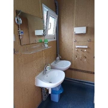 Kontener sanitarny łazienki