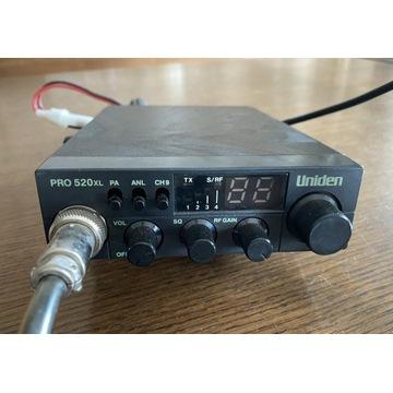 CB radio uniden 520xl antena President Georgia