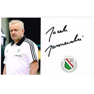 Jacek JAROSZEWSKI Legia Warszawa autograf lekarz