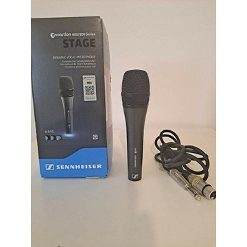 Mikrofon dynamiczny Sennheiser e845 + kabel