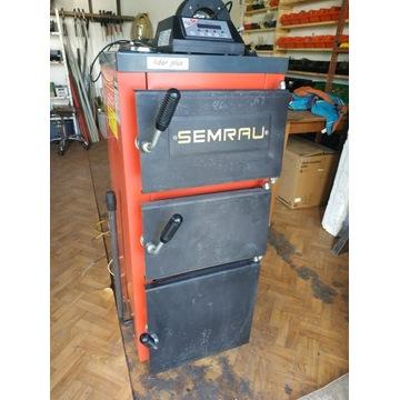 Kocioł węglowy grzewczy SEMRAU 12kW z wentylatorem