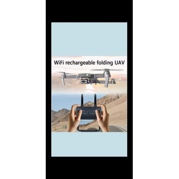 Dron E68 4K WIFI FPV Camera ,GPS Altitude Hold RC
