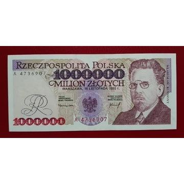 1000000 złotych 1993 rok Seria A Stan UNC