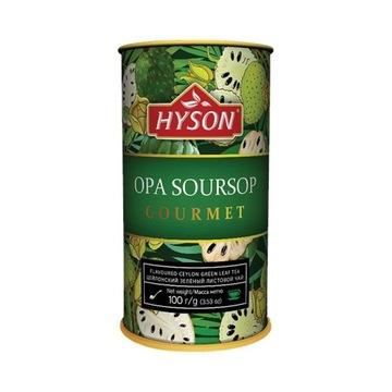 Herbata zielona Soursop Hyson Gourmet graviola