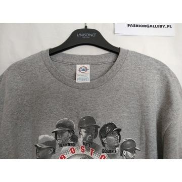 T-shirt szary r. L MLB Boston Red Sox zawodnicy