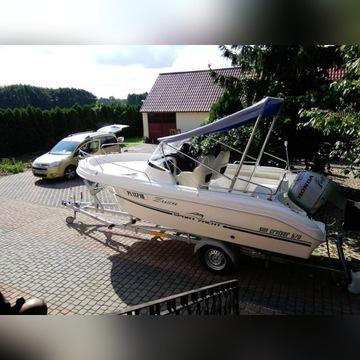 Łódź motorowa yacht, sun cruiser + przyczepa