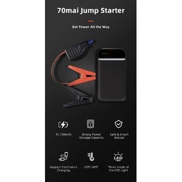 Urządzenie rozruchowe 70mai Jump Starter Booster