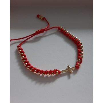 Modne bransoletki na sznurku i rzemyku Cudo