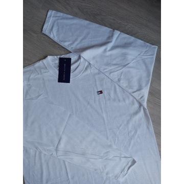 Koszulka na długi rękaw z logo Tommy.