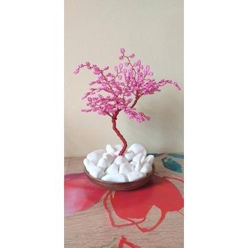 """Różowe """"Drzewko szczęścia"""""""