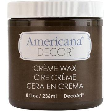 Kremowy wosk do farb kredowych - brąz 118 ml