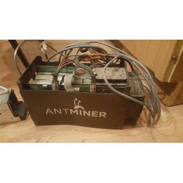 Antminer s5 z zasilaczem