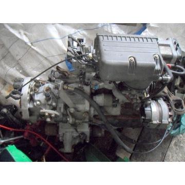 silnik fiat seicento 1.1+skrzynia biegów+lewarek