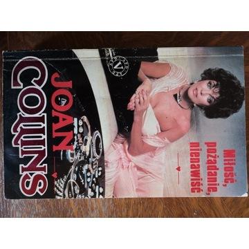 """""""Miłość, pożądanie, nienawiść"""" - Joan Collins"""