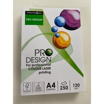 Papier satynowy Pro Design 120g A4 250ark / promo