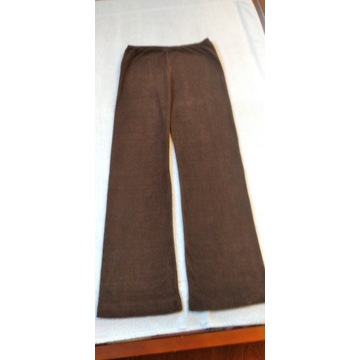 Sprzedam spodnie pidżamowe młodzieżowe, brązowe z