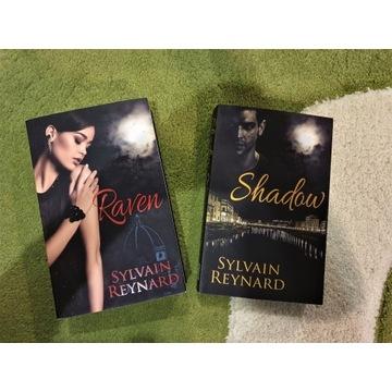"""Sylvain Reynard """"Raven"""" + """"Shadow"""" (2 książki)"""