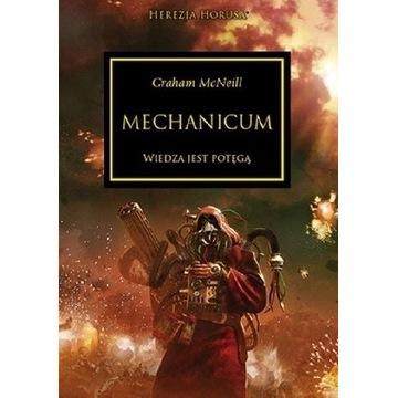Herezja Horusa Mechanicum wiedza jest potęgą McNei