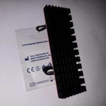 Radiator 6mm M2 M.2 SSD 2280 termopad 1mm