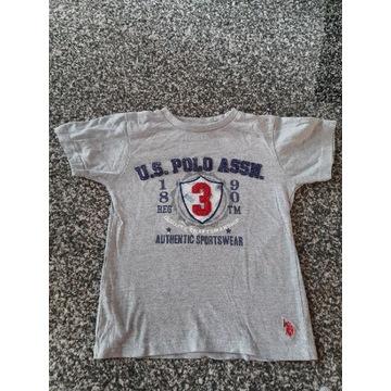 Koszulka U.S Polo Assn. Chłopiec 7 lat