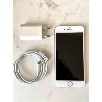 iPhone 6s 64GB srebrny 100% baterii etui gratis