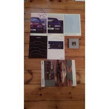 Katalogi - prospekty samochodowe