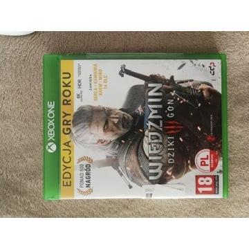 Wiedźmin 3 Edycja Gry Roku Xbox One