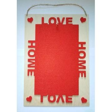 Ramka na zdjęcia Love & Home