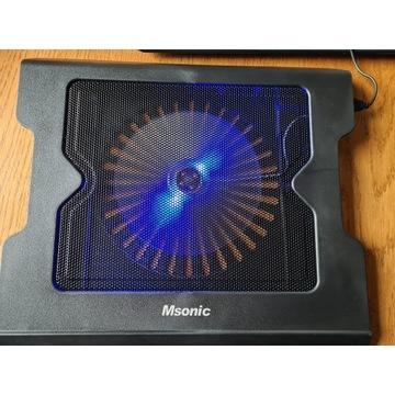 """Podstawka chłodząca pod notebooka MSONIC 15,7"""" MQ1"""