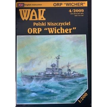 WAK ORP Wicher  - skala 1:200