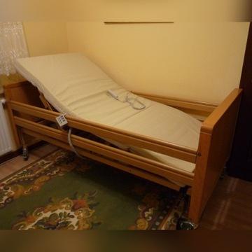 Łóżko rehabilitacyjne+2-gi pilot+mat. antyodleżyn.