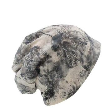 3 w 1 cienka czapka albo opaska albo komin