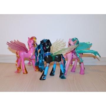 My Little Pony CHRYSALIS Cadence i Celestia 21 cm
