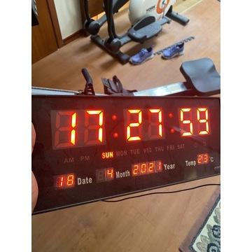 Zegar cyfrowy - Led