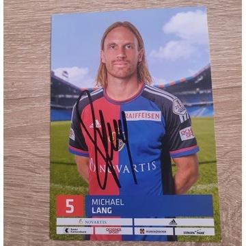 Autograf Michael Lang - FC Basel