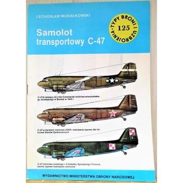TBiU 125 Samolot transportowy C-47