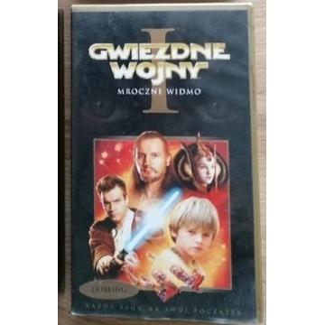"""""""Gwiezdne wojny""""- film na kasecie VHS"""