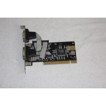 Karta PCI z 4 portami RS 232