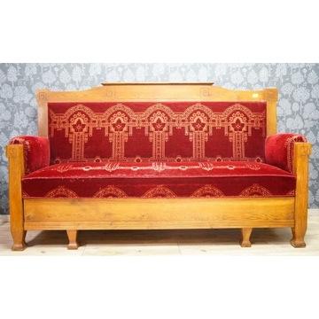 Gustawiańska kanapa Sofa - Antyk oryginał
