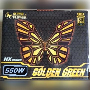 Zasilacz komputerow Super Flower 80 Plus Gold 550W