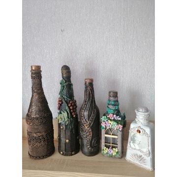 Ozdobne butelki /prezent