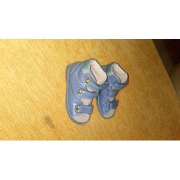 Buty ortopedyczne skórzane