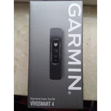 Opaska fit Garmin Vivosmart 4, S/M, czarna